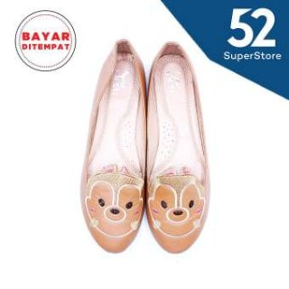 Dea Ballerina Chipmunk Flat Shoes 1702-13