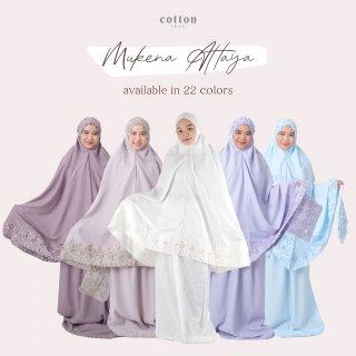 Cotton Inch - Attaya Mukena Khadijah Premium