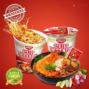 Nissin Cup Noodles Tom Yum Asam Pedas