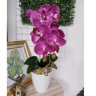 10. Bunga Anggrek Jumbo Imitasi