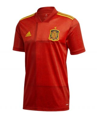 Jersey Bola Spanyol Home Official Euro 2019/2020