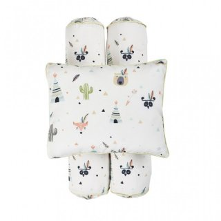 Cottonseeds Pillow Bolster Little Indian Set