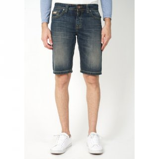 LOIS CFD376G Celana Pendek Jeans Wash Slim Fit Pria / Denim Washing Original