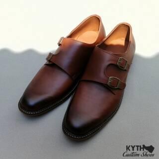 Kythshoes Monkstrap Basic Tan NB