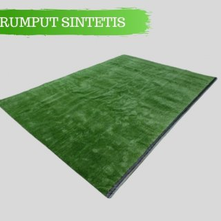 Rumput Sintetis 10 mm Ukuran 100 x 200 cm