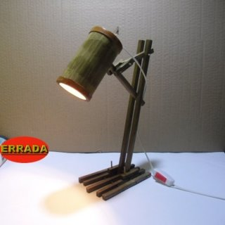 Lampu Belajar Bambu Errada