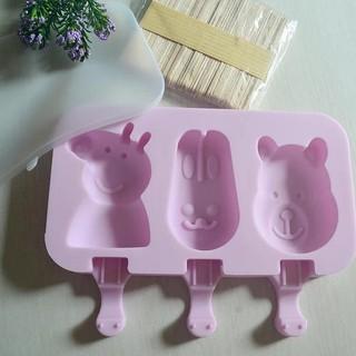 Cetakan Ice Cream Popsicle Peppa Pig 3