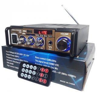 Amplifier New Aiwa 988 Bluetooth Stereo Karaoke + Mp3 player + FM Radio