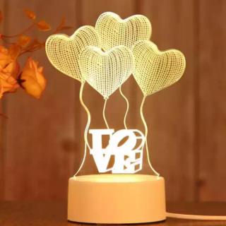 Lampu Hias Tidur 3D Creative Visualization Lamp
