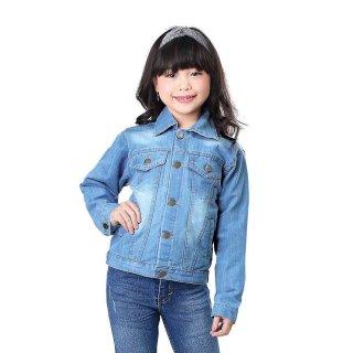 Jaket Denim Anak Perempuan SHI INF 911