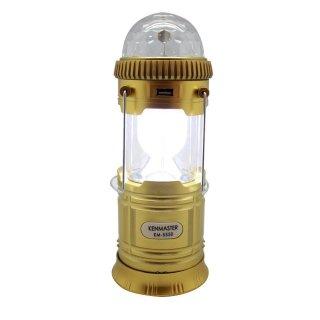 KENMASTER LAMPU EMERGENCY CAMPING LANTERN KM-5550 3 IN 1 MULTIFUNGSI