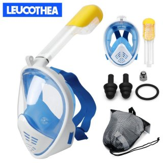 Seaview 180° Full Face Snorkel Mask Scuba Diving Snorkeling Set For GoPro Dry