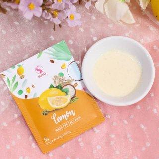 Sansa Lemon Wash Off Mask Organic