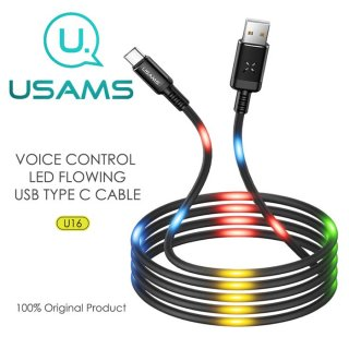 Usams U16 Voice Reactive LED Type-C USB Data Cable