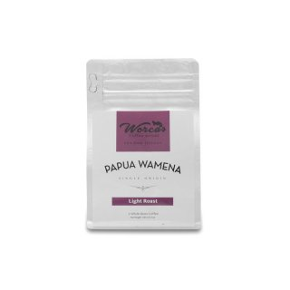 Kopi Arabica Papua Wamena 100 gram Light Roast (Biji/Bubuk) - Kopi Biji