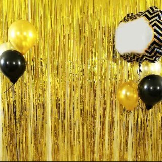 Backdrop Foil Gold