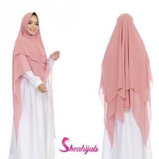 SHEAHIJAB Jilbab Khimar Instan Syari Ceruty Diandra