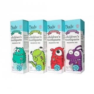 Buds Children Toothpaste With Fluoride