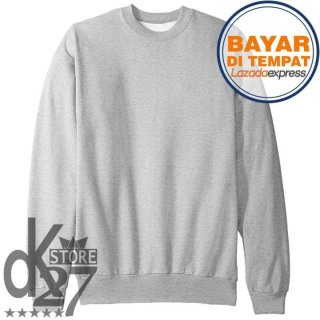 DK Sweater Basic/Oblong Polos Unisex Pria/Wanita