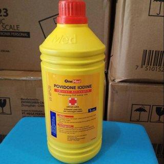 Povidone Iodine Ecodine 1 Liter