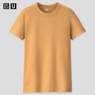 UNIQLO U Women T-Shirt Crew Neck Lengan Pendek