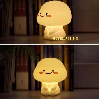 Lampu Tidur Pentol Quby Lamp