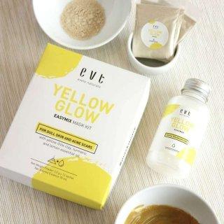 Evete Naturals Yellow Glow Mask Kit