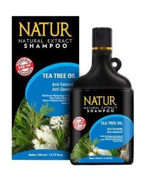 Natur Shampoo Tea Tree Oil Anti Dandruff