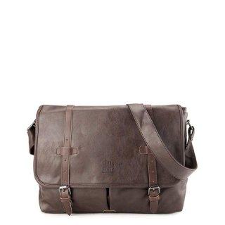 Urban State - Distressed Leather Nomad Messenger Bag