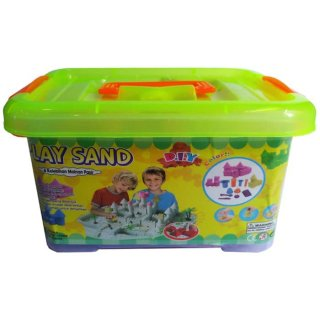 Play Sand Kinetic Sand Container