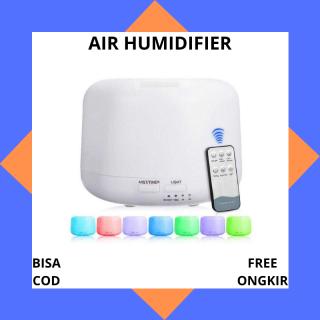 Pengharum Ruangan Taffware Humidifier Elektrik + 7 LED + Remote Control - White