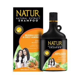 Shampoo Natur Moringa Oleifera & Sweet Almond