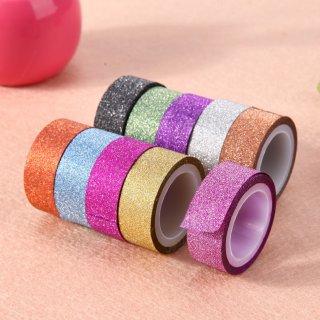 Rainbow Glitter Masking Tape