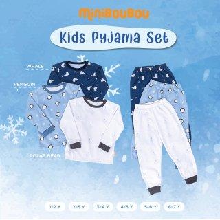 MINIBOUBOU Unisex Long Pyjama Arctic