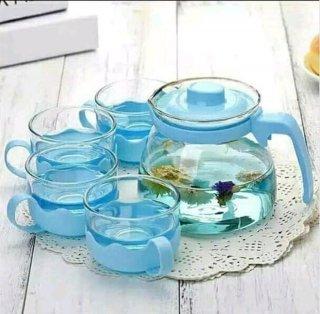 Tea Pot Powercook Flower Teapot Five