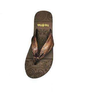 Pata - Pata Sandal Wanita Ursa Brown - 5724179