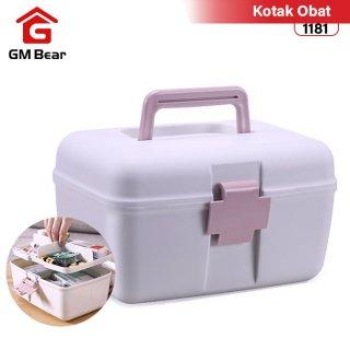 GM Bear Kotak Obat Penyimpanan Serbaguna 1181