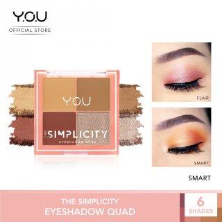 The Simplicity Eyeshadow Quad by Y.O.U