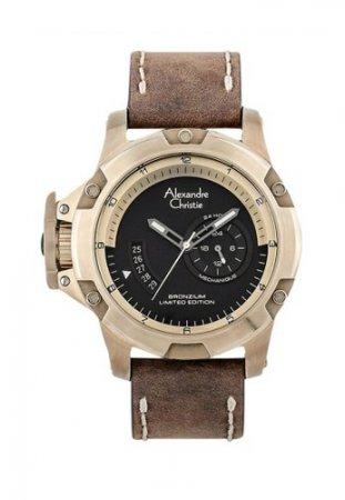Alexandre Christie AC 6481 Jam Tangan Pria - Automatic Bronzium Limited Edition
