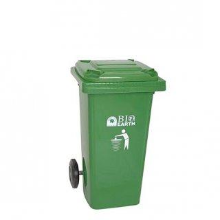 Tempat Sampah 100 L Green Leaf 2310 Roda Segi Bio Plastik