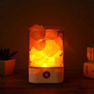 Lampu Tidur LED Crystal Salt Lamp Of Himalaya Lava Lamp