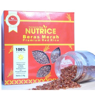 Beras Merah Nutrice 2kg