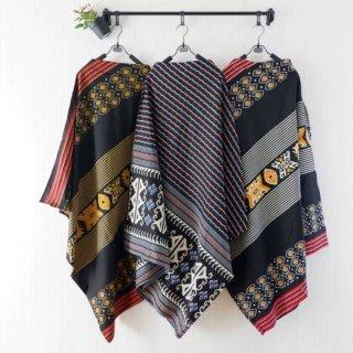 UK Batik Long Cape Khanza