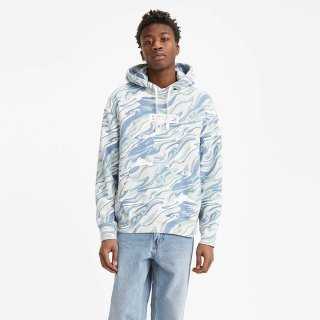 Levi's Relaxed Fit Logo Hoodie Marble
