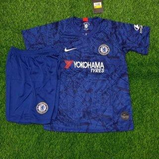 Baju Bola Anak Chelsea Biru Home 2019 2020