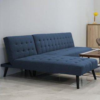Scarlett Sofa Bed 3S+Chaise Blue