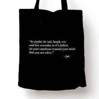 Tote Bag Day 6 Jae Quote