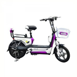 Selis Type Cendrawasih 2 Sepeda Listrik - Putih Ungu