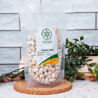 Genki Pistachio Roasted (in Shell) 500 gram