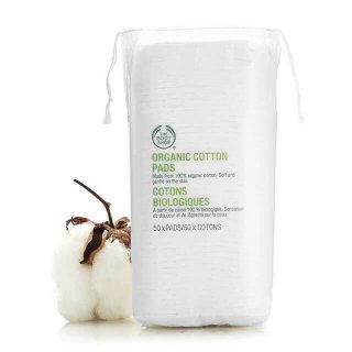 The Body Shop Organic Cotton Square Pads